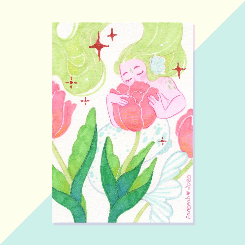 Tulip Mermaid - Original