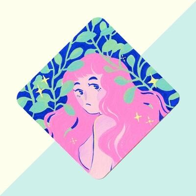 Plant Lady - Gouache Original
