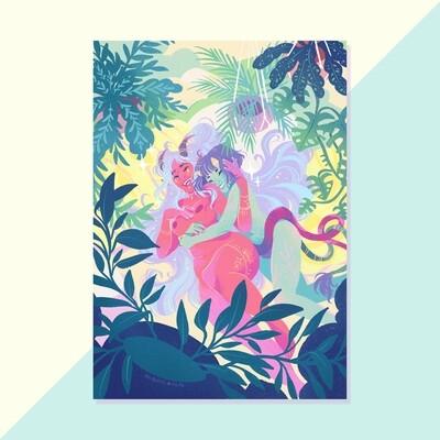 Print - Demon Girlfriends