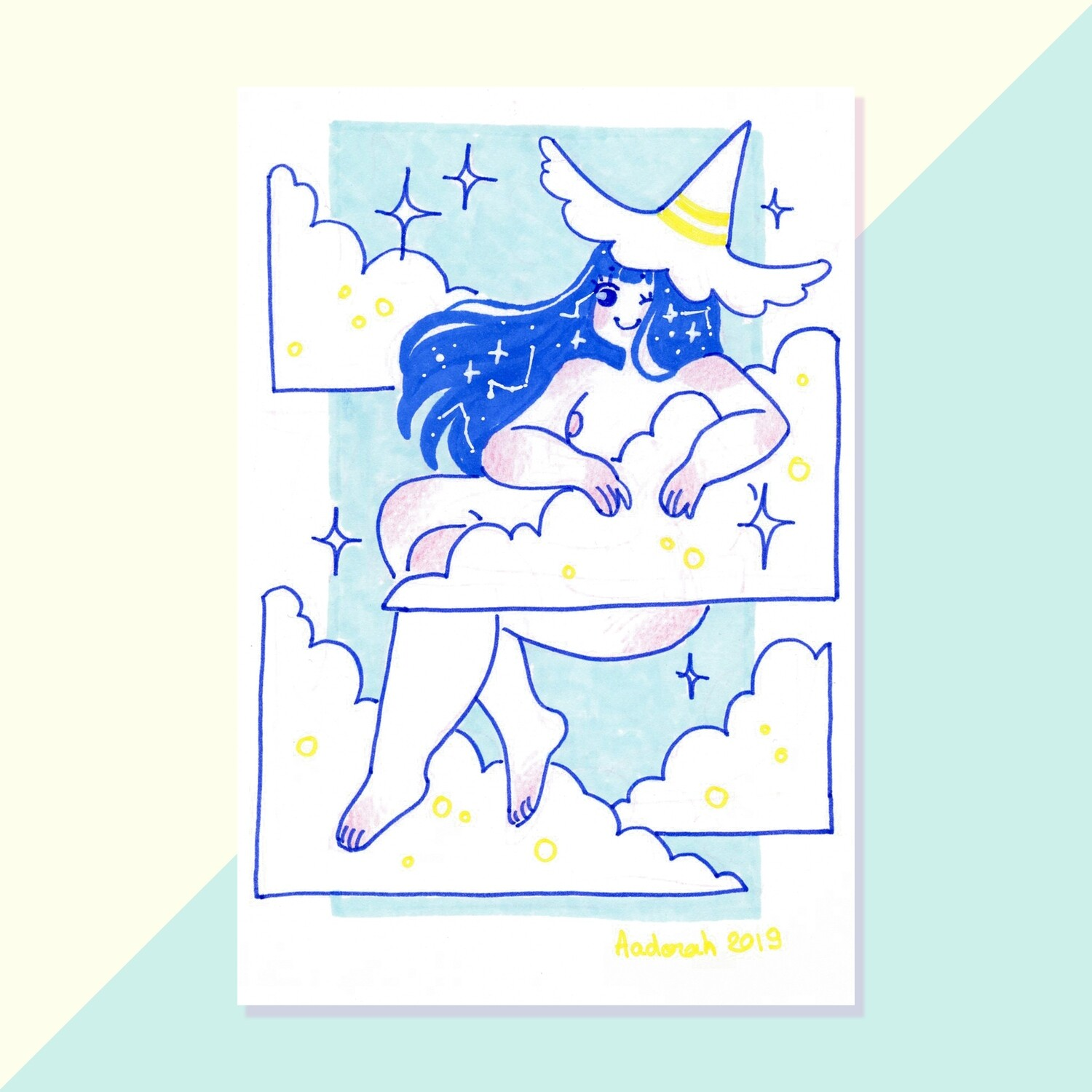 Original - Tiny Witch - Clouds