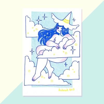 Original - Tiny Witch - Clouds