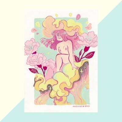 Print - Mushroom Fairy