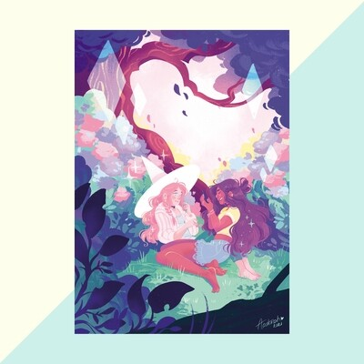Print - Hydrangea Date