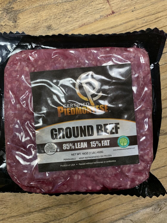 85/15 Piedmontese Ground Beef 1lb