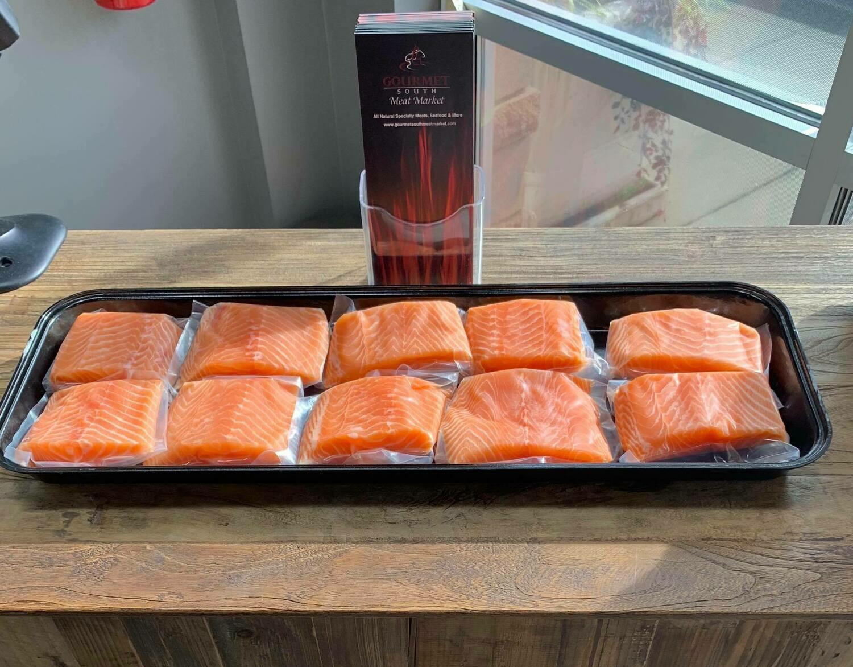 7oz Fresh Scottish Salmon Filet