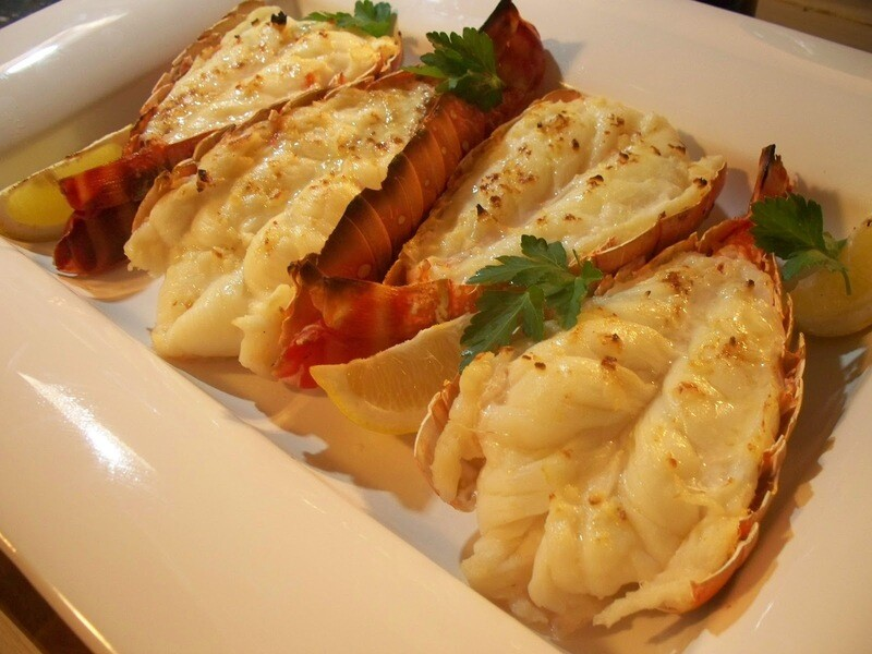 8oz Warm Water Lobster Tail