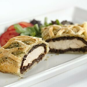 Chicken Wellington W/Mushrooms
