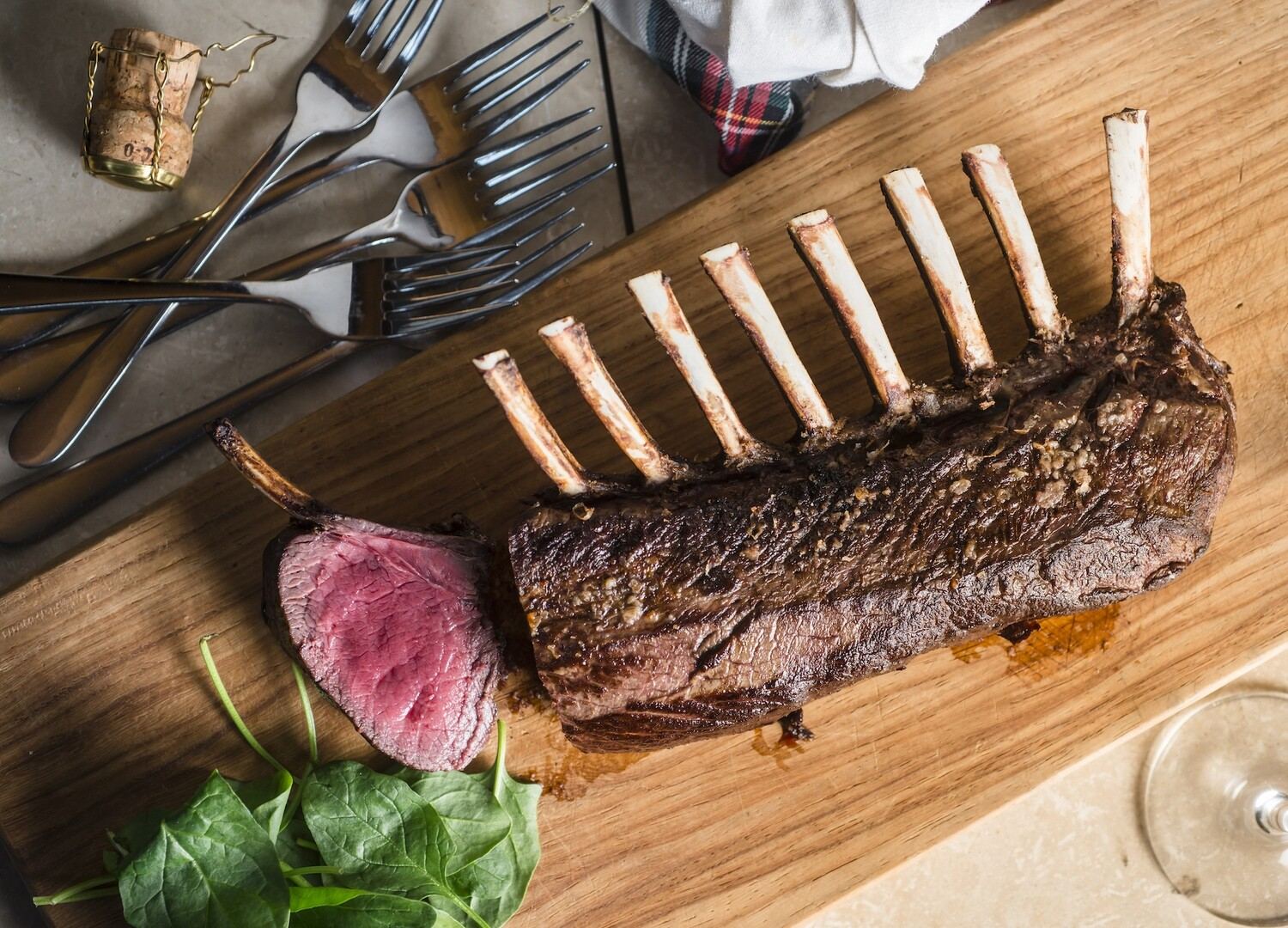 All Natural Venison 8 Bone Frenched Rack