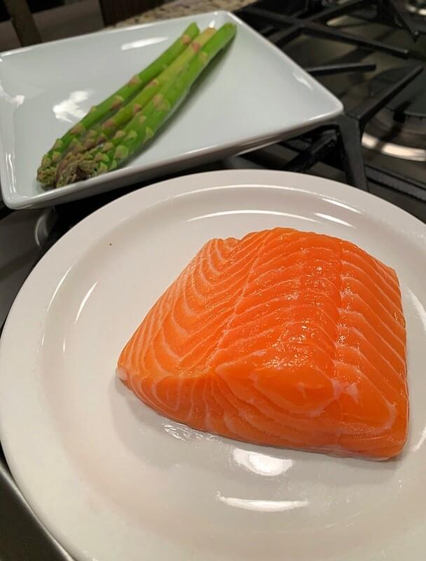 8oz Fresh Wester Ross Scottish Salmon Filet