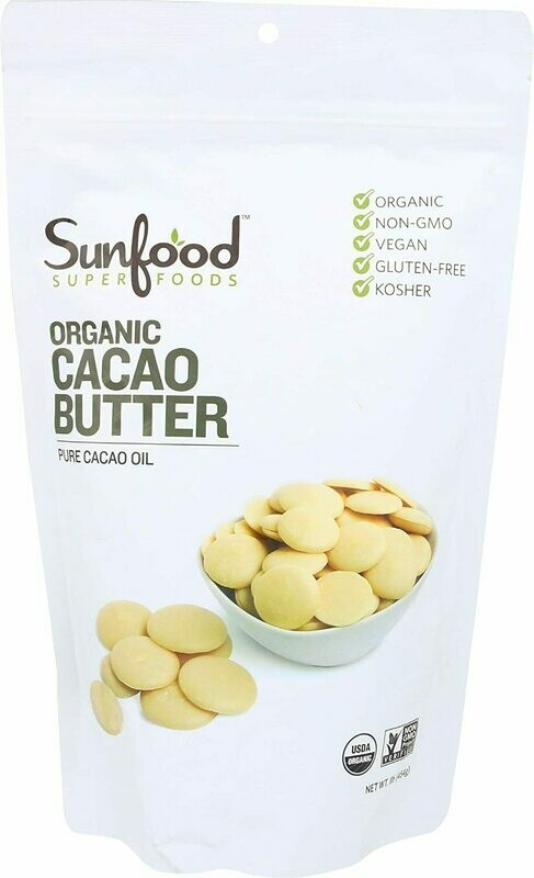 Raw Cacao Butter 1 Lb.