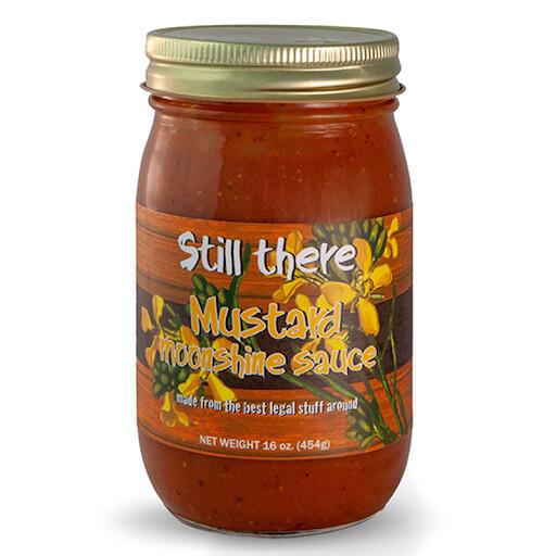 Still There Mustard Moonshine Sauce