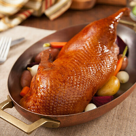 Roasted Duckling Halves W/ Orange Sauce - Fully Cooked