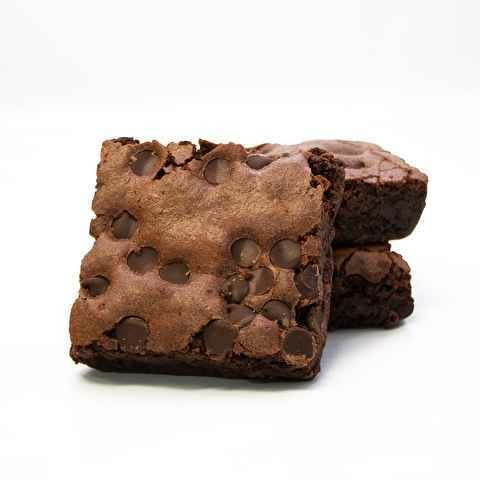 Davids Chocolate Chip Brownie