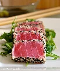 Fully Seared Ahi Tuna Slices 3/4oz