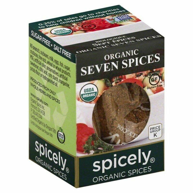 Organic Seven Spice