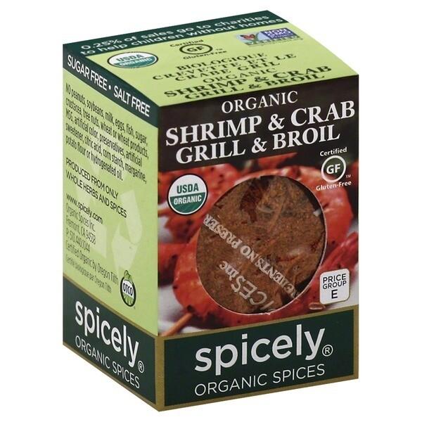 Organic Shrimp & Crab Grill & Broil
