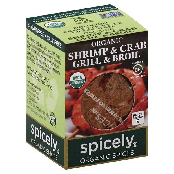 Organic Shrimp & Crab Grill & Broil