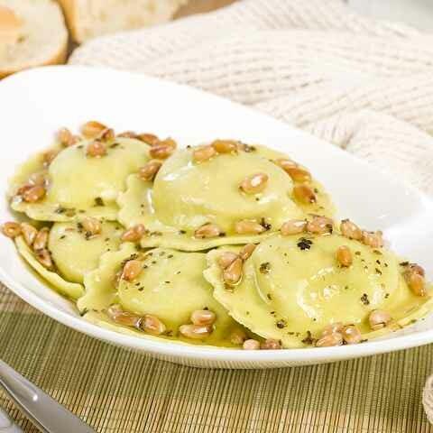 Organic Three Cheese Ravioli (1.25 lbs)