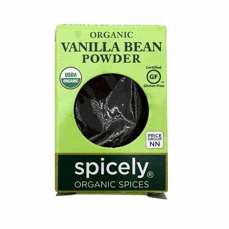 Organic Vanilla Bean Powder