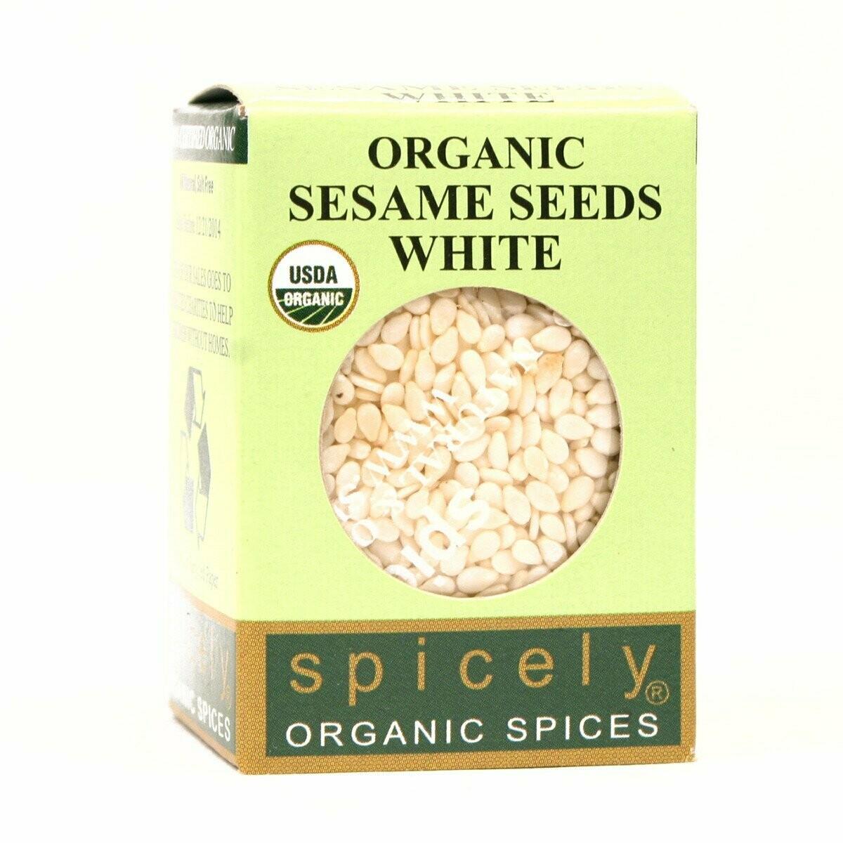 Organic White Sesame Seeds