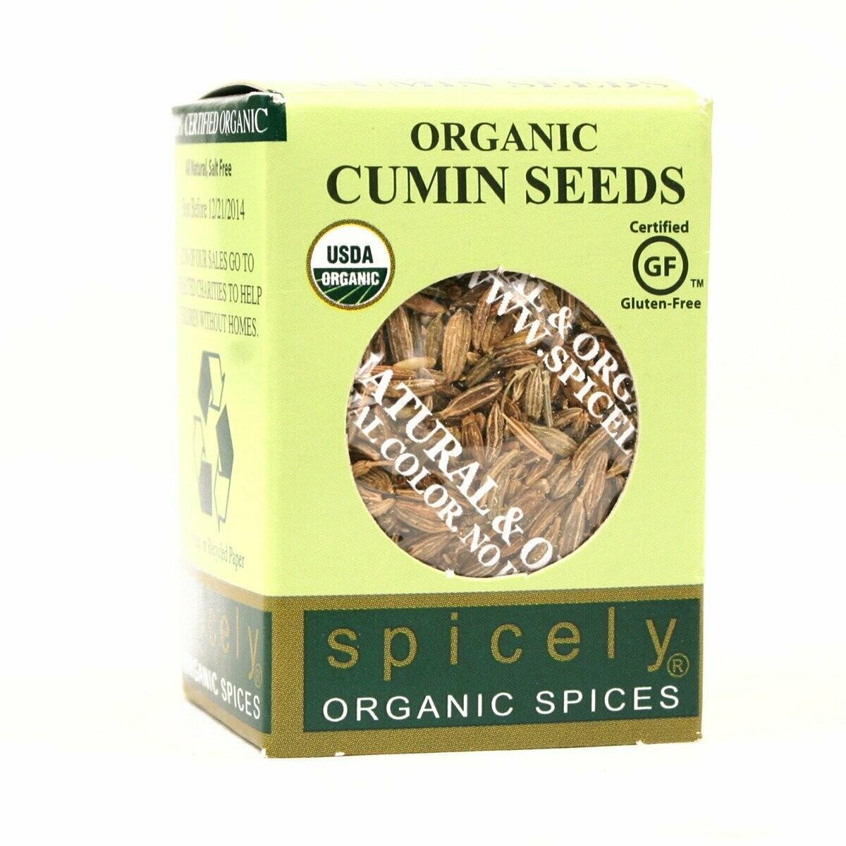 Organic Whole Cumin Seed