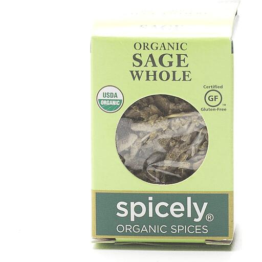 Organic Whole Sage