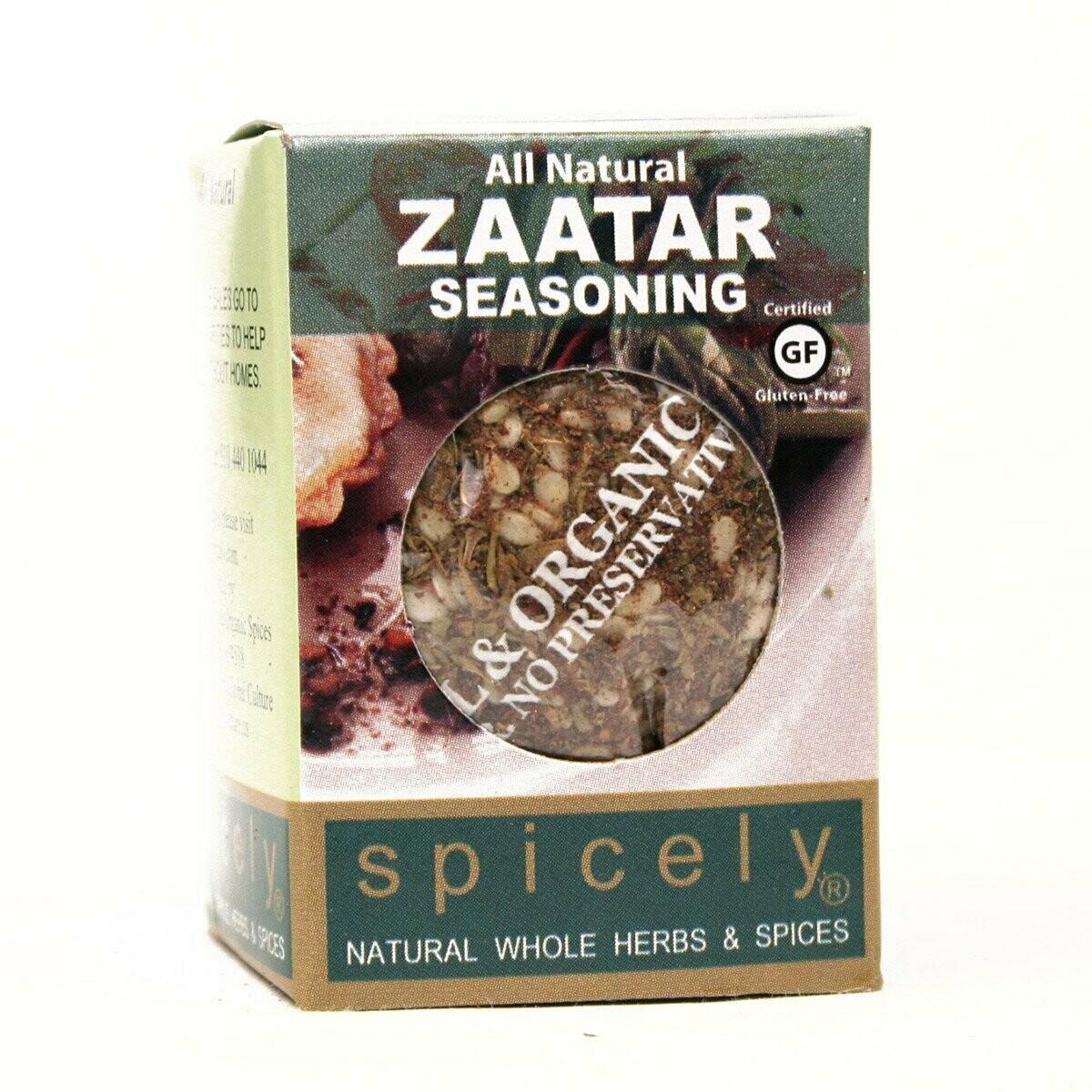 Organic Zaatar Seasoning