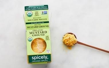 Organic Ground Mustard