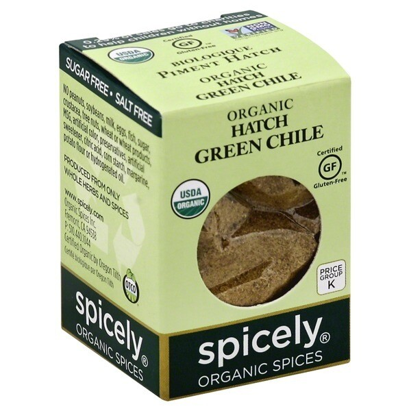 Organic Hatch Green Chile