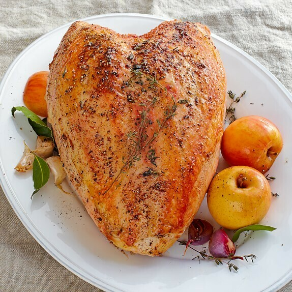 Fresh All Natural Joyce Farms Turkey Breast Deposit 10/12 Lbs.