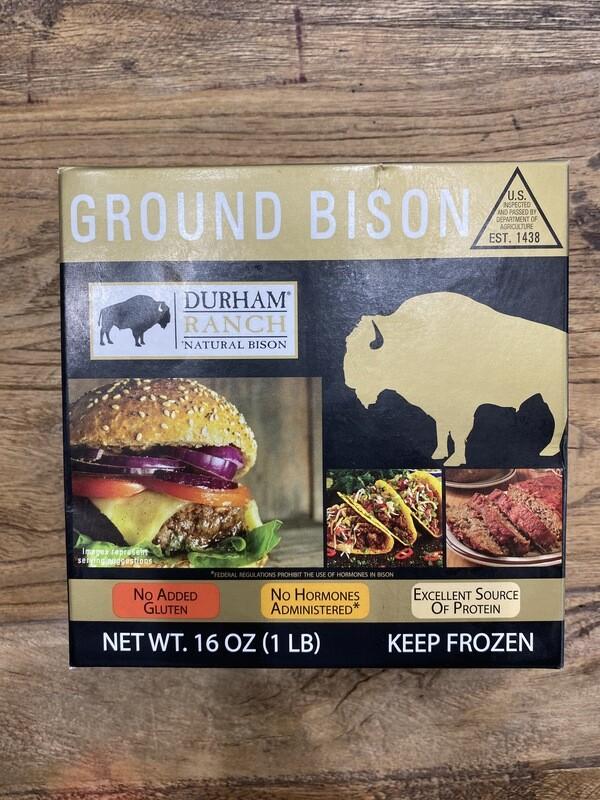 Durham Ranch Ground Bison