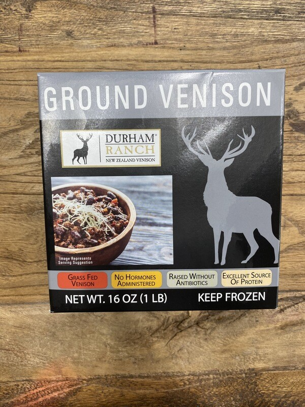 All Natural Grass Fed Ground Venison