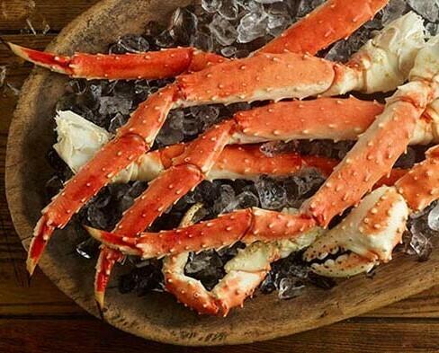 Jumbo Alaskan King Crab Legs 5lb.avg