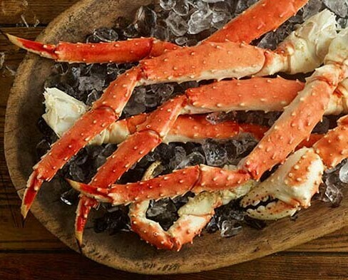Jumbo Colossal King Crab Legs 5lb.avg