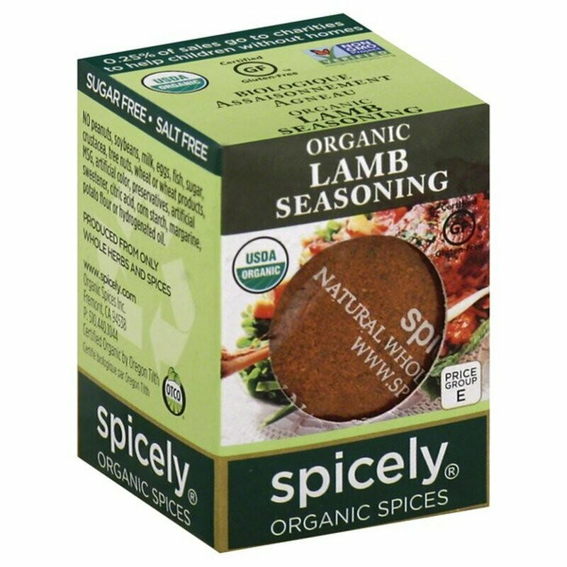 Organic Lamb Seasoning