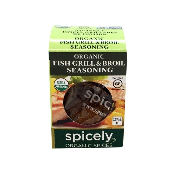 Spicely Organic Fish Grill And Broil