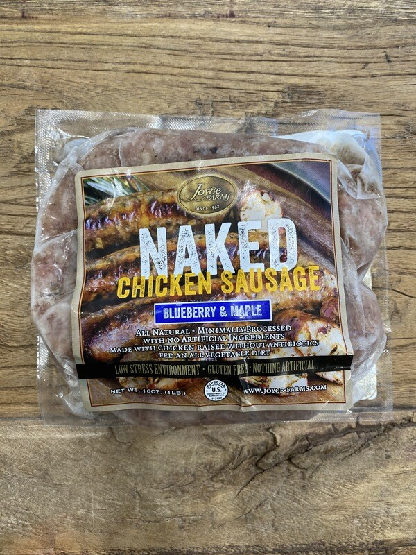 Naked Chicken Sausage 2oz Blueberry & Maple