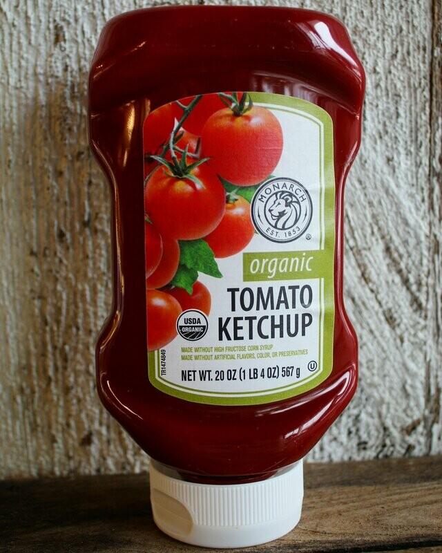 Organic Monarch Tomato Ketchup