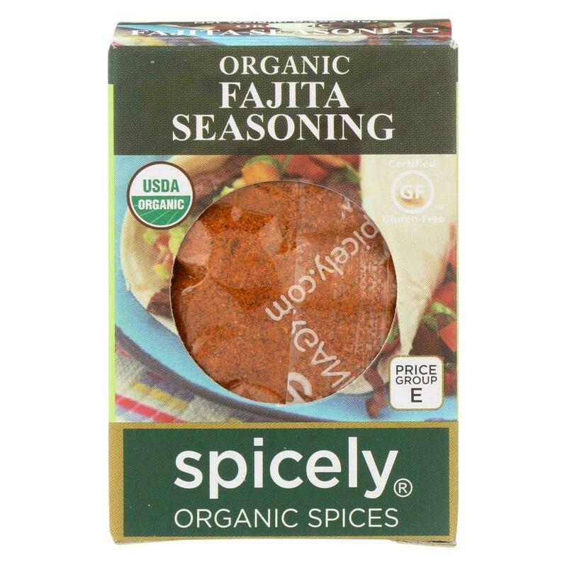 Organic Fajita Seasoning