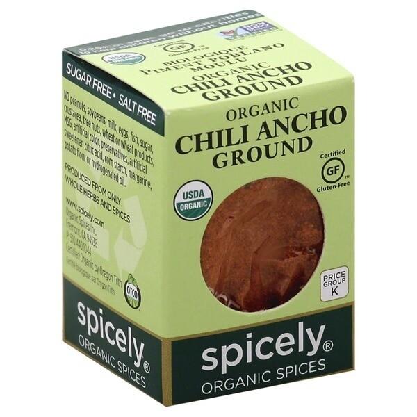 Organic Chili Ancho Ground