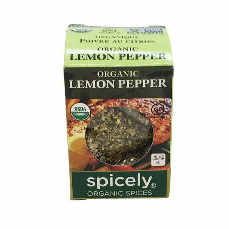 Organic Lemon Pepper