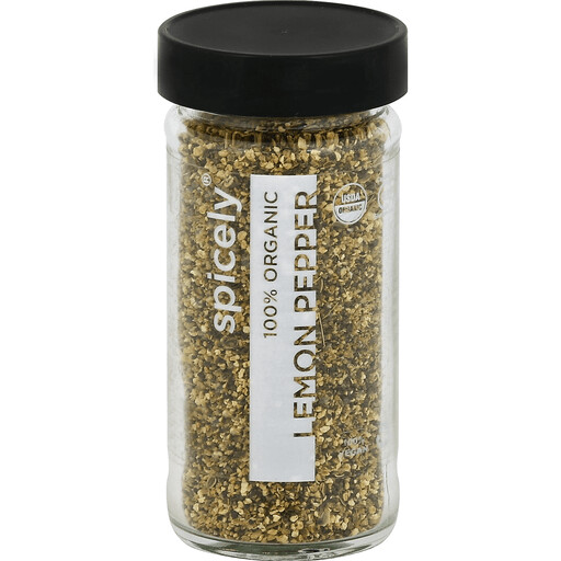 Organic Lemon Pepper