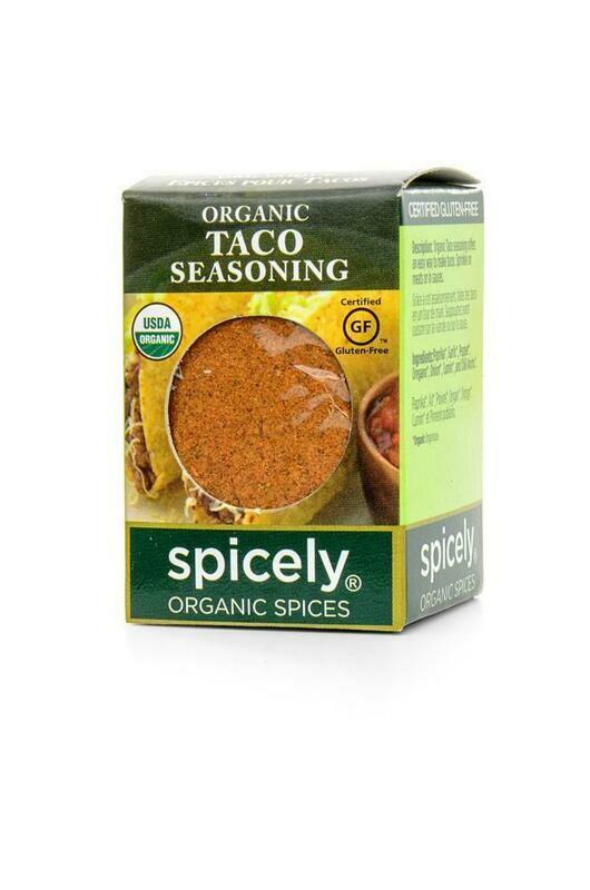 Organic Seasoning Taco