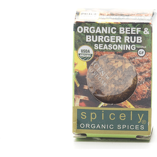 Organic Beef & Burger Rub