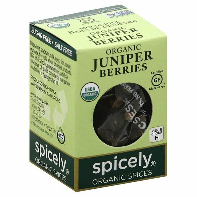 Organic Juniper Berries