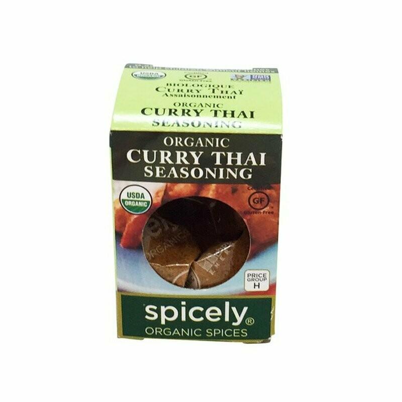 Organic Curry Thai Seasoning