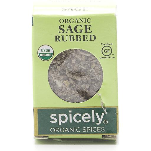 Organic Rubbed Sage