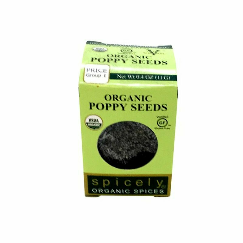 Organic Poppy Seeds
