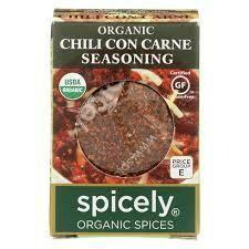 Organic Chili Con Carne Seasoning