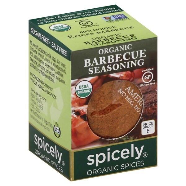 Organic Barbeque Seasoning